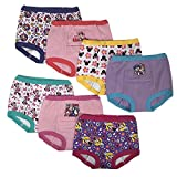 #1: Handcraft Disney Minnie Mouse Girls Potty Training Pants Panties Underwear Toddler 7-Pack Size 2T 3T 4T