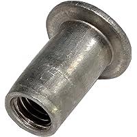 AERZETIX: 10x Insertos de engastar Aluminio M5 L12mm
