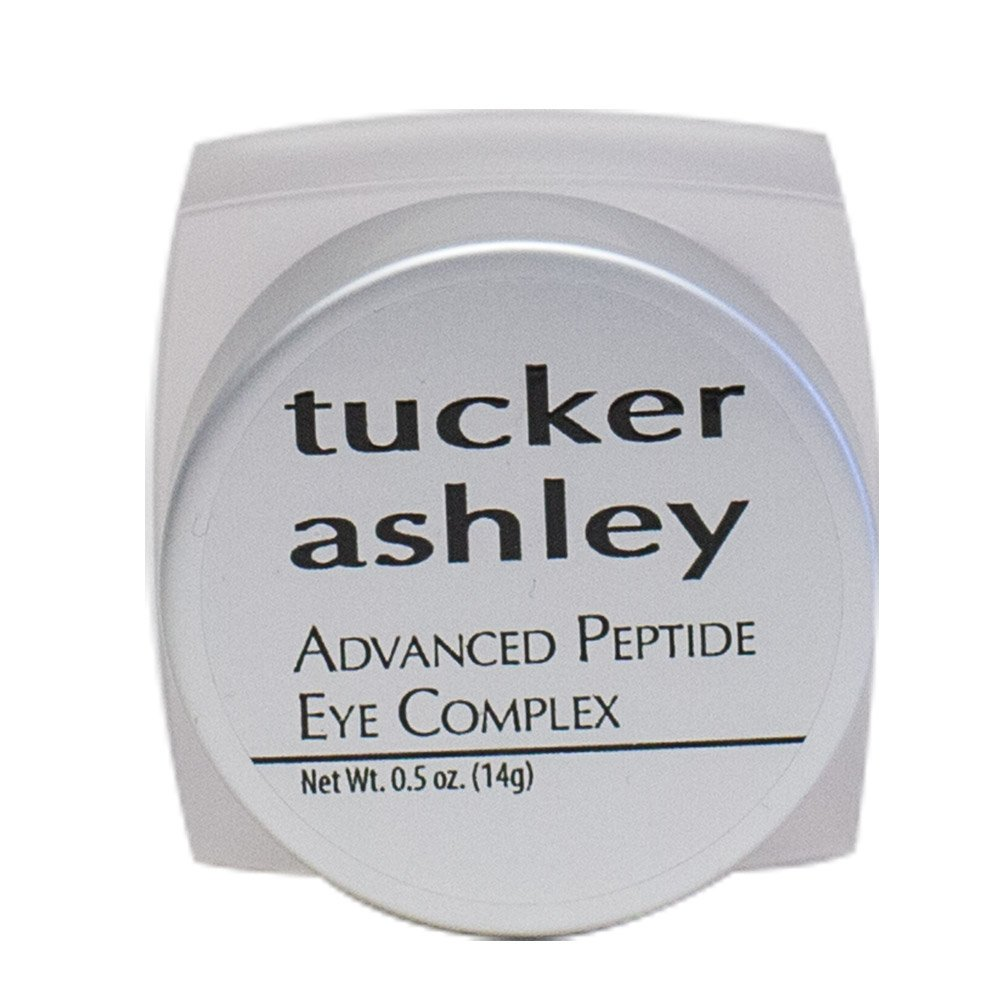 tucker ashley Advanced Peptide Eye Complex, Anti-Aging, Anti-Wrinkle Effect, Helps Reduce Dark Circles, Hydrates, Helps Stimulate Collagen Production, 0.5 oz CPL95-0.5