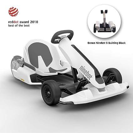 Ninebot Electric GoKart Kit for Segway miniPRO Ninebot S, 12 4 Miles Range,  15 MPH Top Speed, Mobile App Control, LED Lights Drifting Cart for Kids