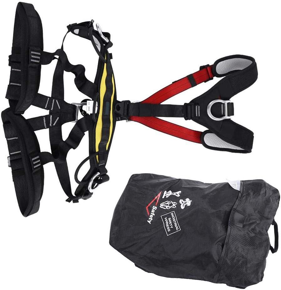 登山用安全ハーネス、安全登山用屋外クライミング登山用フルボディハーネス機器
