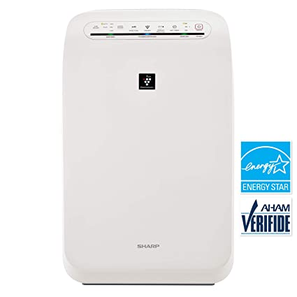 amazon com sharp fpf60uw plasmacluster ion air purifier with true rh amazon com