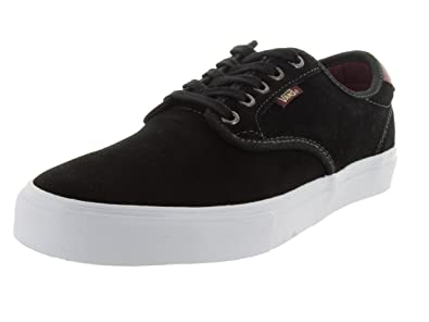 6203a10fce8476 Vans Chima Ferguson Pro (Black Mahogany) Mens Skate Shoes-6.5