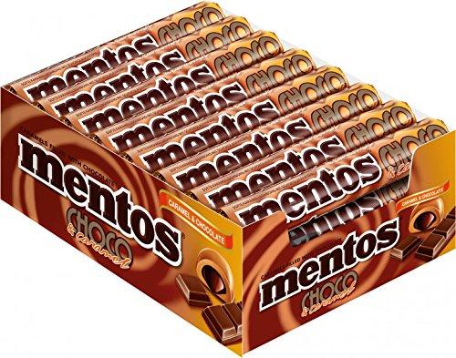 (Mentos Choco and Caramel)