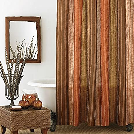 Large Shower Curtain Manor Hill Sierra Copper