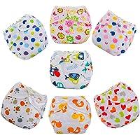Sannysis® Bebé Pañales Lavables Pañal Reutilizable Insertos (B)