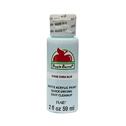 Apple Barrel Acrylic Paint In Assorted Colors 2 Oz 21483 China Blue
