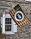 Brotherhood Air Force Freedom Isn't Free Decorative House Flag