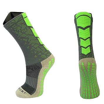 ynport antideslizante calcetines de fútbol tocksox mitad de la pantorrilla calcetines de fútbol Fútbol CORTO calcetines Trusox Futbol Meias calcetines ...