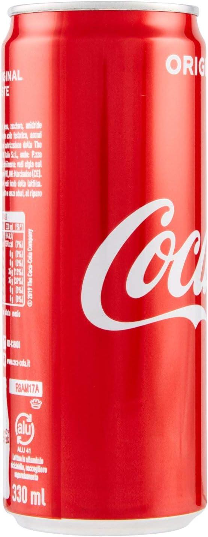 Pack ahorro COCA COLA 24 latas de 33 cl latas originales: Amazon ...