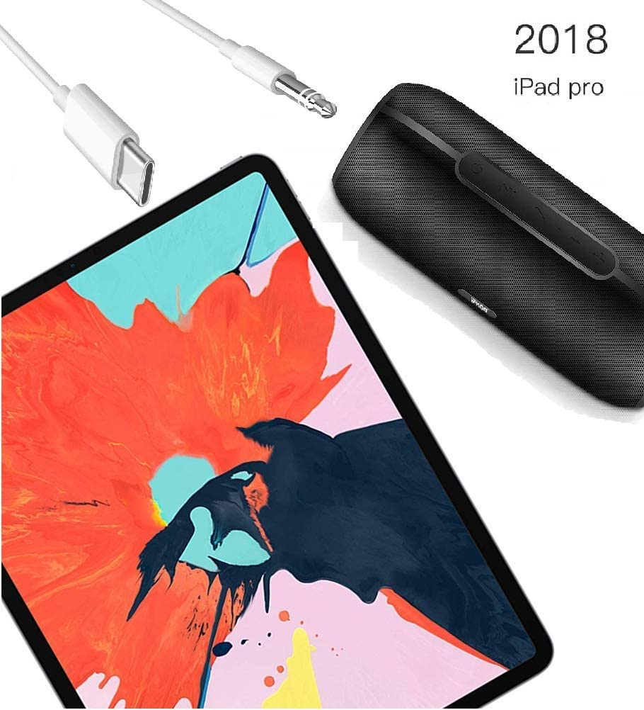 Hi-Res Audio /& Digital Chipset USB C to 3.5mm Aux Cable USB C to 3.5mm 3.3ft Car Aux Cable Compatible for iPad pro 2018 Pixel 3//3 XL//2// 2XL Galaxy S9//S8 and More USB C Devices