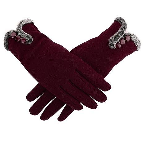 Amazon.com: Cálido impermeable conducción guantes de las ...