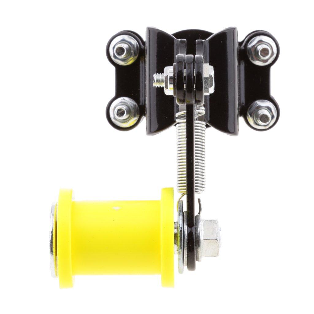 Tensor de Cadena de Ajustador Rodillo de Perno para Motocicletas Universal//F/ácil de Instalar Azul