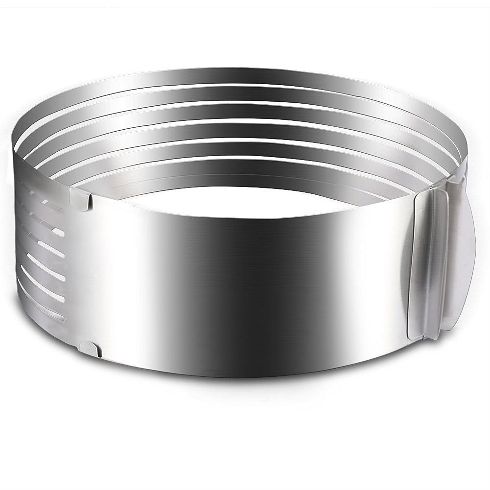 Blacklip Kitchen Pastry Tools Stainless Steel Mousse Cake Ring Mold (6-12