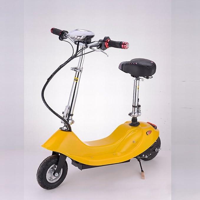 Señora Plegable Mini Coche Eléctrico de Litio Scooter Eléctrico Bicicleta Eléctrica Pequeña Batería Coche Scooter,Negro,8 pulgadas): Amazon.es: Deportes y ...