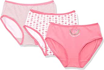 Carina Printed Panties Panty for Girls, 3 Pieces 2-4 Years
