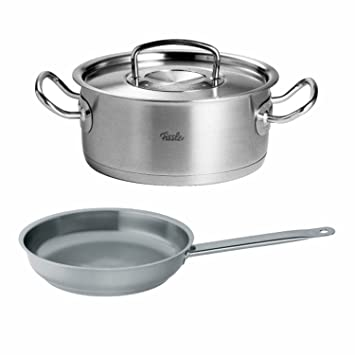 Fissler Original Pro Collection - Cacerola de 7,9 pulgadas con 4,9 ...