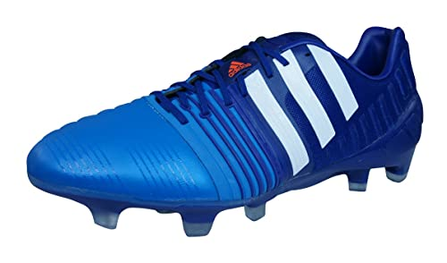 new product 1956d 3bde5 adidas Nitrocharge 1.0 TRX FG Football Boots - Size 7 Blue