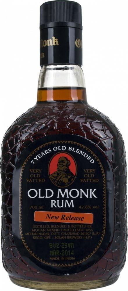 Old Monk 7 Jahre 0.7 L (1 x 0.7 l)