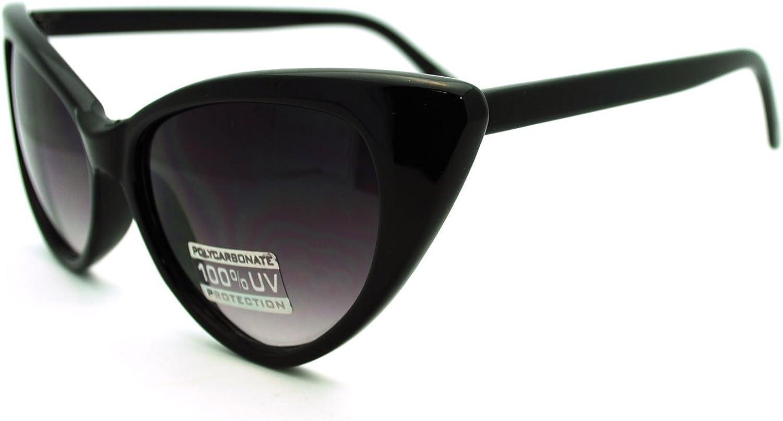 SA106 Womens Classic Gothic Mod Cat Eye Sunglasses