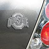 NCAA Ohio State Buckeyes Chrome Team Logo Auto Emblem