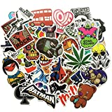 100PCS Floattop Skateboard sticker Guitar Laptop Sticker Luggage Car Decals 5-10cm