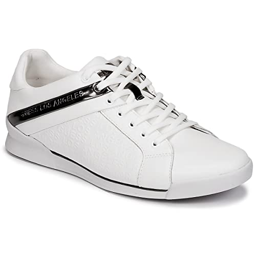 date de sortie: meilleure sélection de 2019 belle et charmante Guess Sneaker FMNGE1 LEA12 White: Amazon.co.uk: Shoes & Bags