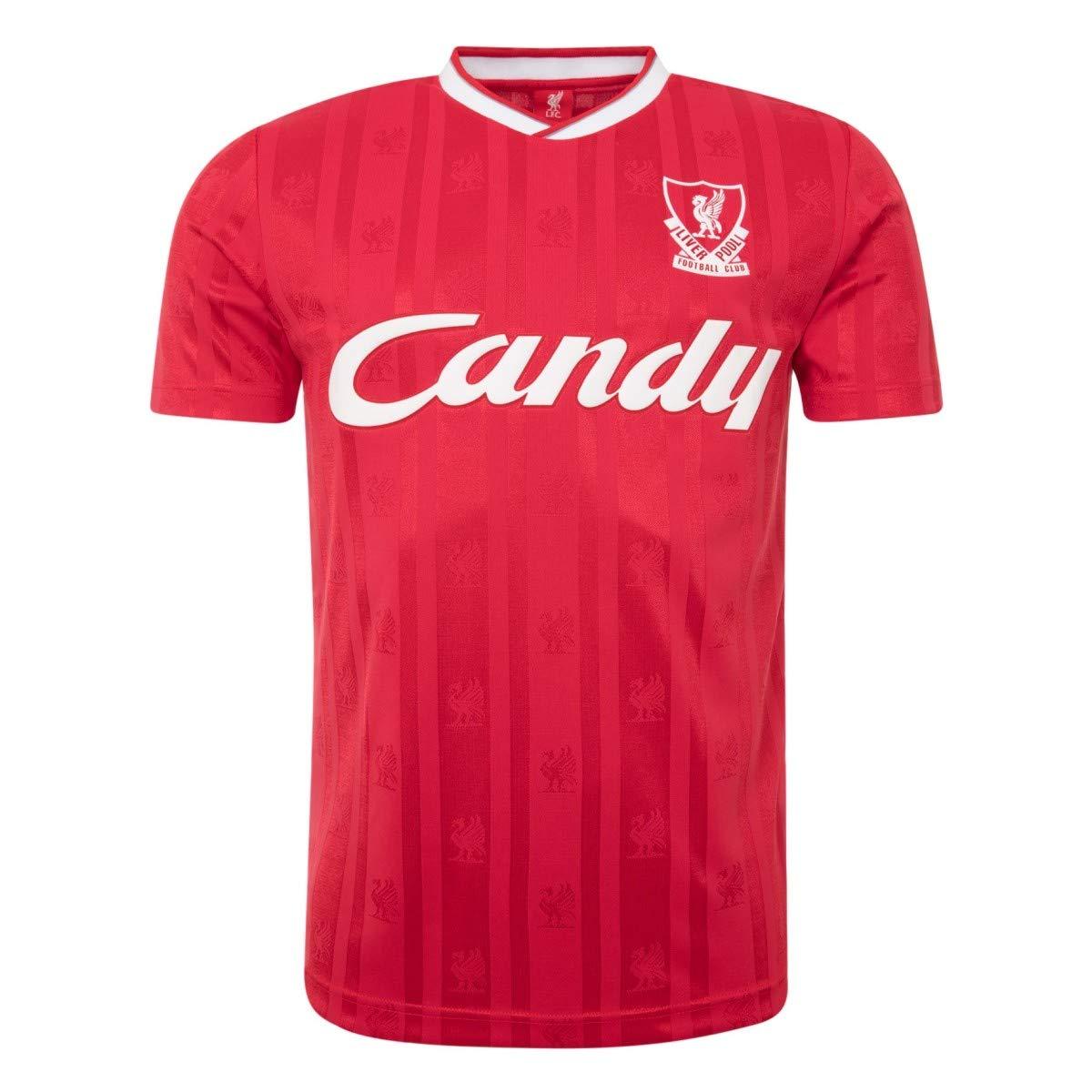FC Liverpool 88-89 Candy Retro Trikot