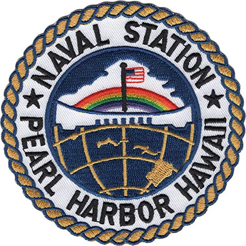 Naval Station Pearl Harbor Hawaii Patch