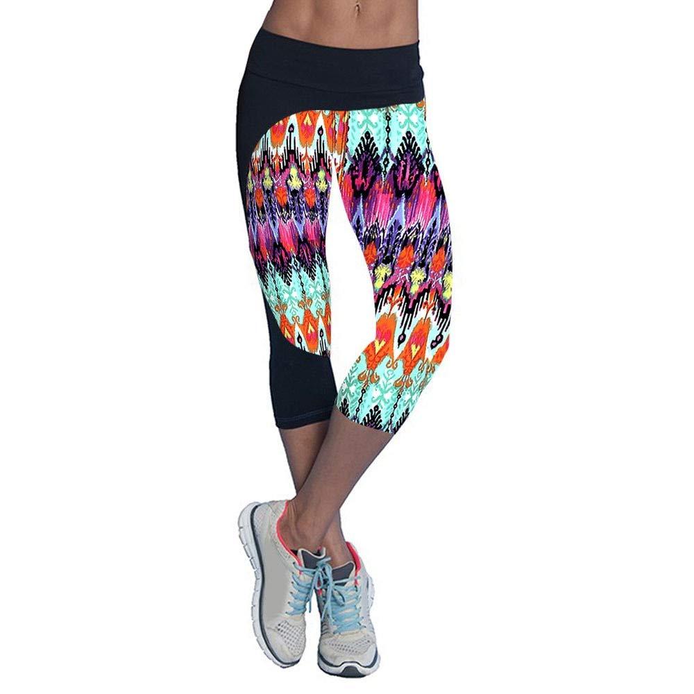 Amazon.com: Women Running Elastic Pants Fitness Slim Running ...