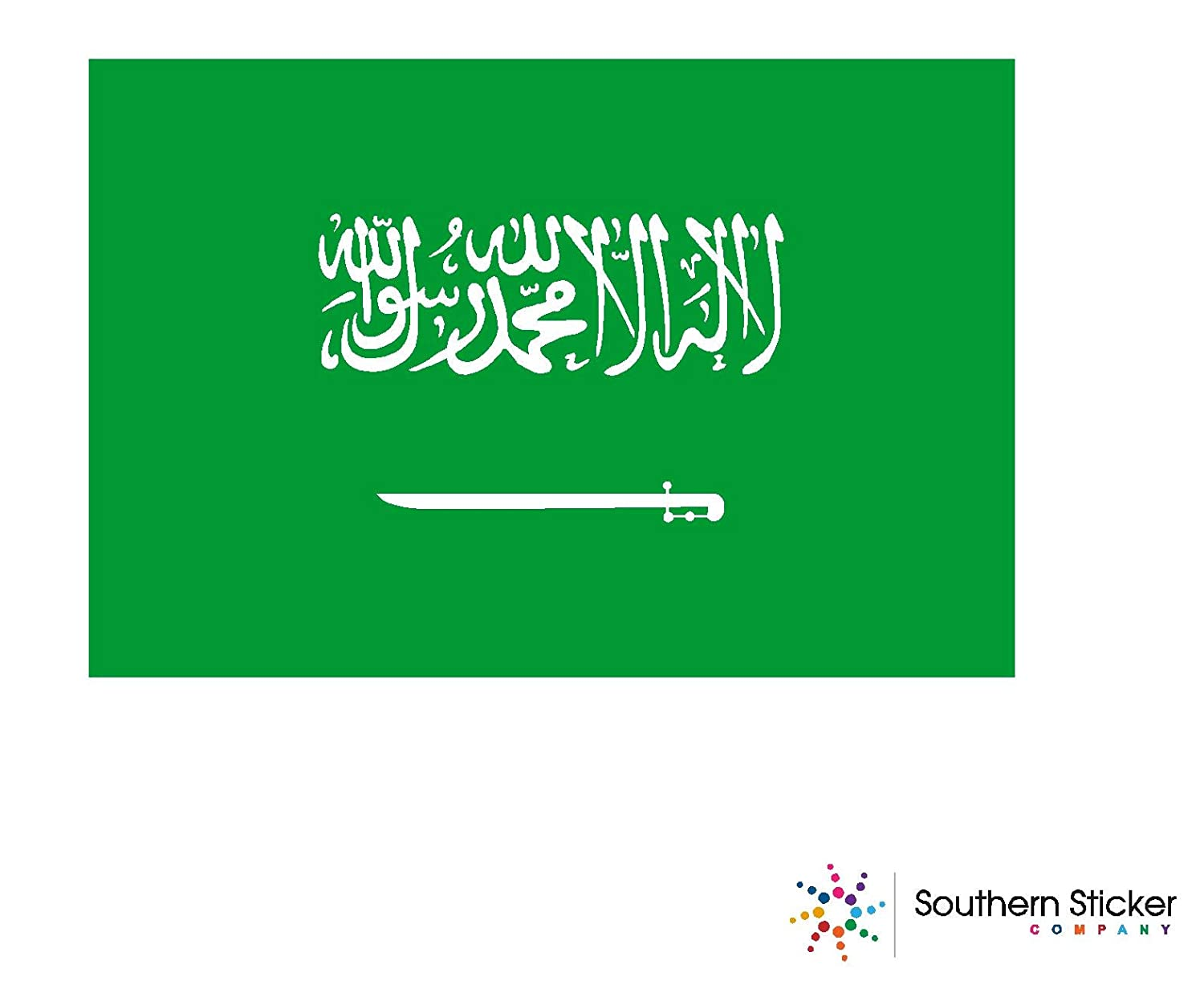 Expressdecor country flag saudi arabia 3x5 inches size funny stickers for construction hard hat pro union working men lunch box tool box symbol window