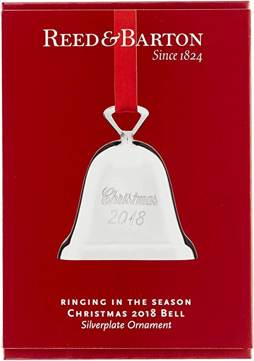 Christmas 2020 Bell Reed And Barton Amazon.com: Reed & Barton Silver plated Bell Ornament: Kitchen