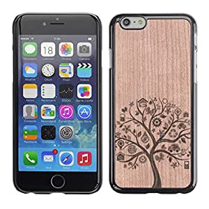 - / Tree Nature Food Healthy - - Funda Delgada Cubierta Case Cover de Madera / FOR Apple iPhone 6 6S Plus 5.5 / Jordan Colourful Shop/