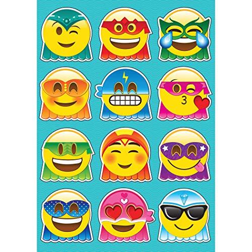 Ashley Productions Superhero Emoji's Die-Cut Magnets (12 Piece), 8.25