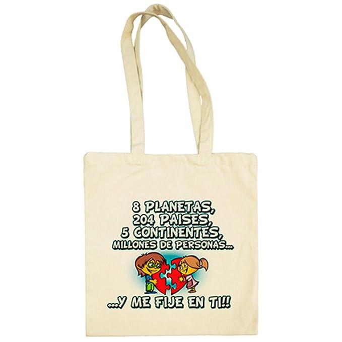 Bolsa de tela regalo frase de amor San Valentín - Beige, 38 ...