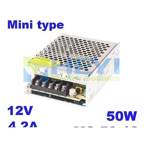 iProTool Micro Single Switching Power Supply MS-50-24 Output 24VDC 2.1A Mini ac dc Switching Power Supply