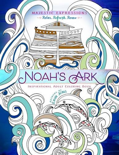 Noah's Ark: Coloring the Great Flood (Majestic Expressions)