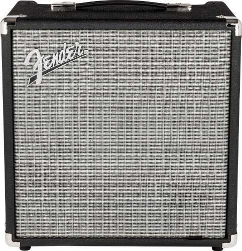 Fender Rumble 25 v3 Bass Combo Amplifier (Best Overdrive Pedal For Solid State Amp)