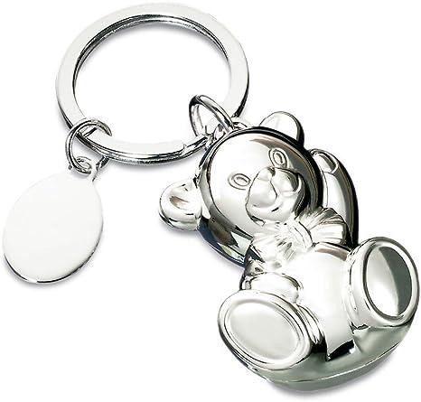 Schlsselringe Beleuchtet And Neuheiten Silber Poliert Bär Schlüsselanhänger Küche Haushalt