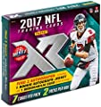 2017 Panini XR Football Hobby Box 2 Pks, 7 Cards: 1 Rookie Autographed Jersey, 1 Rookie Jumbo or Triple Swatch Memorabilia, 1 Autograph, 2 Rookies, 1 Insert, 4 Parallels