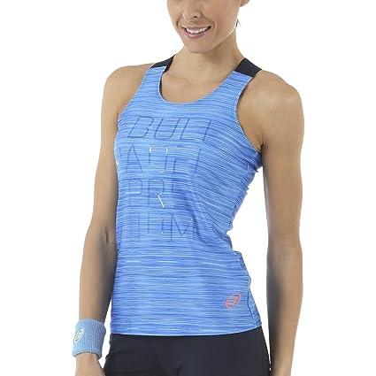 Bull padel Camiseta Voser Azul Estampado (M): Amazon.es ...