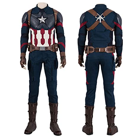 QWEASZER Marvel Avengers 4 Capitán América Combate Body ...