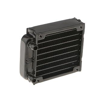 MagiDeal Enfriador de Refrigeración Por Agua Radiador de Computadora Para Aluminio Disipador de Calor de CPU