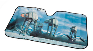 Star Wars Empire Strikes Back Sunshade | ThinkGeek