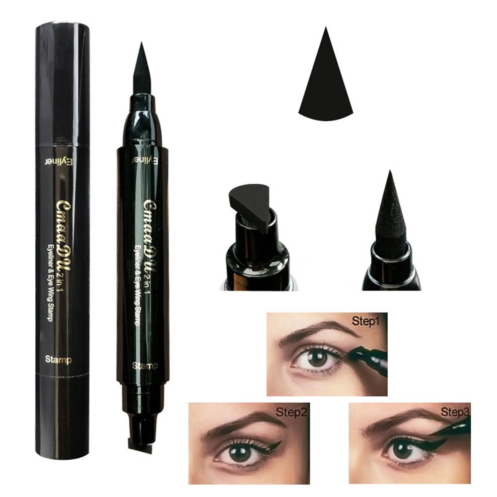 Amazon Eyeliner Stamp Waterproof Liquid Eyeliner Pen Pencil