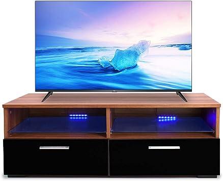 Mueble Moderno para TV de 47 Pulgadas, con 2 cajones, Estante de ...