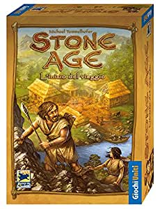 Giochi Uniti Stone Age - Juego de mesa (versión en italiano) [Importado de Italia]