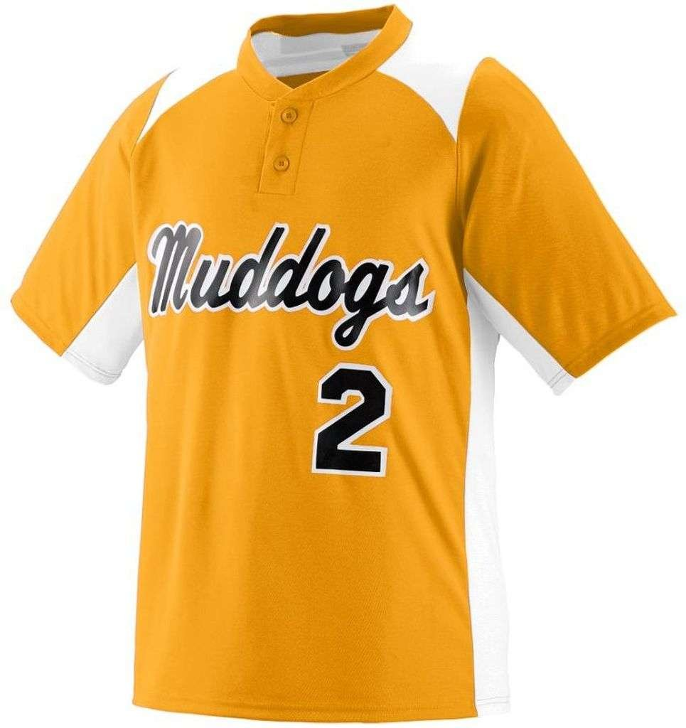 Augusta SportswearメンズGamer野球ジャージー B00HJTMK58 XX-Large|ゴールド/ホワイト ゴールド/ホワイト XX-Large