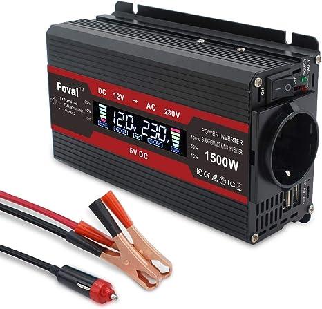 Spannungswandler 12v 230v 750w Wechselrichter Elektronik