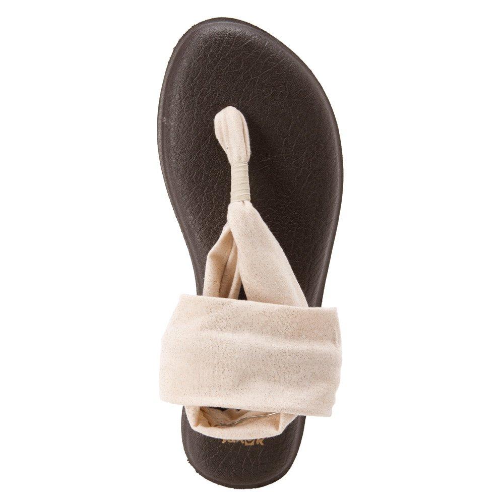 Sanuk Damenschuhe Yoga - Sling 2 Metallic Sandale Gold Größe 5 - Yoga fb1e85